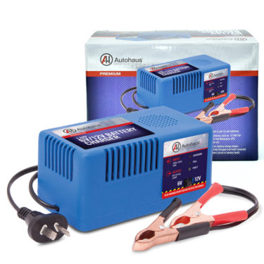 Autohaus 2AMP 6/12V Battery Charger