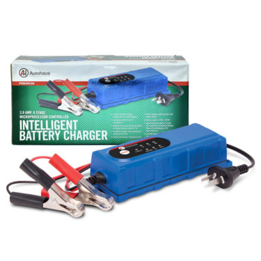 Autohaus 3.8AMP 6/12V Intelligent Battery Charger