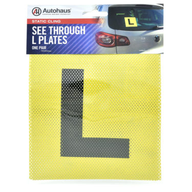 Autohaus Learner Driver Plate